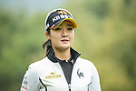 Ji Hyun Oh of South Korea walks on the 12th green during Round 2 of the World Ladies Championship 2016 on 11 March 2016 at Mission Hills Olazabal Golf Course in Dongguan, China. Photo by Victor Fraile / Power Sport Images