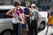 The scene on Martin Street, Hopscotch Music Festival, Raleigh, N.C., Friday, September 7, 2012
