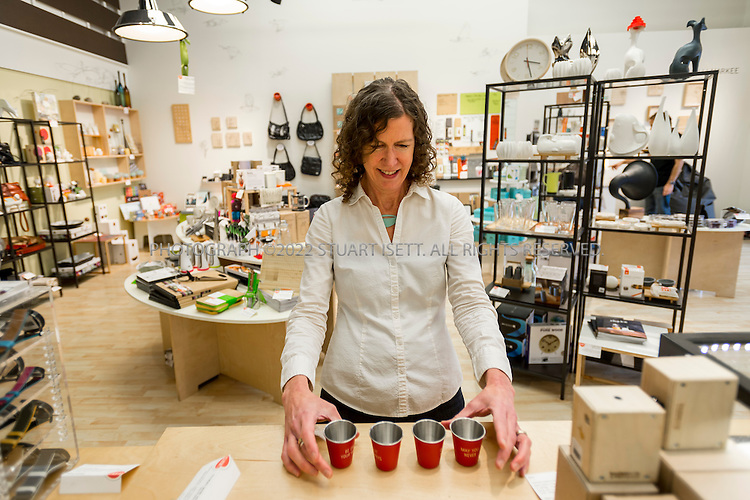 10/20/2014&mdash;Seattle, WA, USA<br /> <br /> Frances Smerch, owner of &lsquo;Click! Design That Fits&rsquo; in West Seattle.<br /> <br /> 4540 California Ave SW Seattle WA 98116<br /> http://clickdesignthatfits.com<br /> <br /> Photograph by Stuart Isett<br /> &copy;2014 Stuart Isett. All rights reserved.