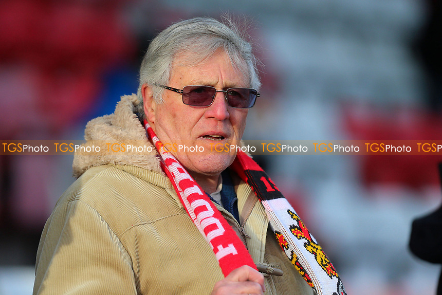 Stevenage fan during Stevenage vs Cheltenham Town, Sky Bet EFL League 2 Football at the Lamex Stadium on 1st January 2018