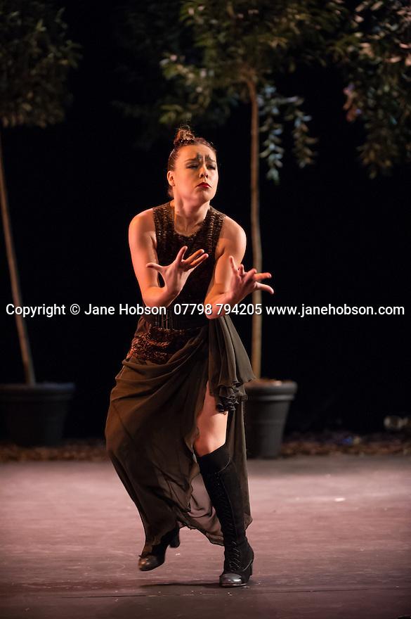 London, UK. 16.10.2014. Rocio Molina in BOSQUE ARDORA, which she presents as part of Dance Umbrella, at the Barbican. Photograph © Jane Hobson.