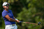 TAOYUAN, TAIWAN - OCTOBER 26:  Yani Tseng of Taiwan tees off on the 8th hole during the day two of the Sunrise LPGA Taiwan Championship at the Sunrise Golf Course on October 26, 2012 in Taoyuan, Taiwan. Photo by Victor Fraile / The Power of Sport Images