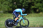 Alejandro Valverde (ESP) Movistar Team in action during Stage 10 of La Vuelta 2019 an individual time trial running 36.2km from Jurancon to Pau, France. 3rd September 2019.<br /> Picture: Colin Flockton | Cyclefile<br /> <br /> All photos usage must carry mandatory copyright credit (© Cyclefile | Colin Flockton)