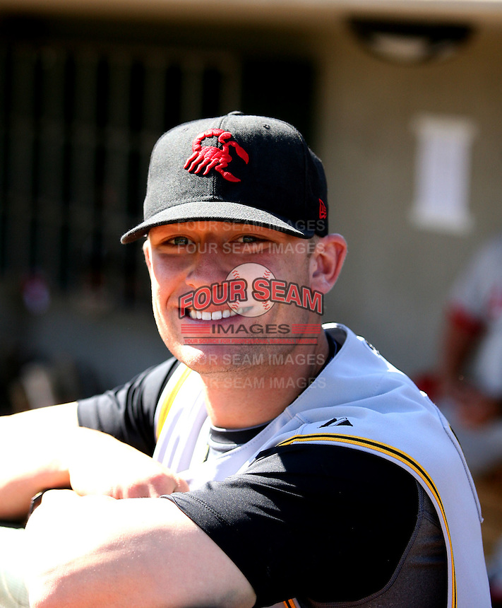 Steve Lerud / Scottsdale Scorpions 2008 Arizona Fall League..Photo by:  Bill Mitchell/Four Seam Images