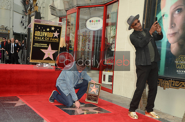 Quentin Tarantino, Samuel L. Jackson<br />