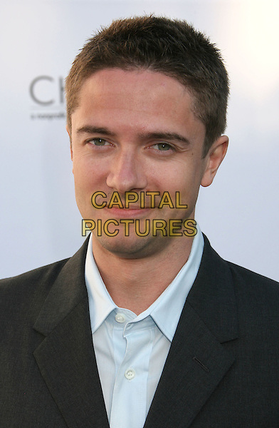 TOPHER GRACE.7th Annual Chrysalis Butterfly Ball held at a Private Residence, Los Angeles, California, USA,.31 May 2008..portrait headshot.CAP/ADM/MJ.©Michael Jade/Admedia/Capital Pictures
