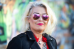 © Joel Goodman - 07973 332324 . 05/08/2017 . Macclesfield , UK . KIM WILDE at the Rewind Festival , celebrating 1980s music and culture , at Capesthorne Hall in Siddington . Photo credit : Joel Goodman
