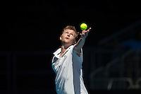 ANDREY GOLUBEV<br /> <br /> Tennis - Australian Open - Grand Slam -  Melbourne Park -  2014 -  Melbourne - Australia  - 13th January 2013. <br /> <br /> &copy; AMN IMAGES, 1A.12B Victoria Road, Bellevue Hill, NSW 2023, Australia<br /> Tel - +61 433 754 488<br /> <br /> mike@tennisphotonet.com<br /> www.amnimages.com<br /> <br /> International Tennis Photo Agency - AMN Images