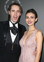 06 January 2018 - Santa Monica, California - Reeve Carney, Victoria Justice. The Art Of Elysium's 11th Annual Black Tie Artistic Experience HEAVEN Gala held at Barker Hangar. Photo Credit: F. Sadou/AdMedia