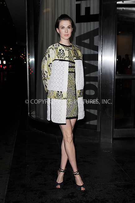 WWW.ACEPIXS.COM<br /> April 7, 2015 New York City<br /> <br /> Elettra Wiedemann attending the special screening of Relativity Studio's 'Desert Dancer' at Museum of Modern Art on April 7, 2015 in New York City.<br /> <br /> Please byline: Kristin Callahan/AcePictures<br /> <br /> ACEPIXS.COM<br /> <br /> Tel: (646) 769 0430<br /> e-mail: info@acepixs.com<br /> web: http://www.acepixs.com