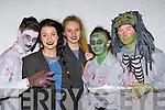 The Living Dead; Fionan O'Carroll, Una Fitzgerald, Muireann McKenna, Ciarda Brosnan and Aaron Casey Tralee at the Knocknagoshel Halloween festival on Sunday night