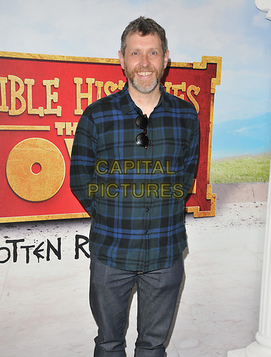 """Dave Gorman at the """"Horrible Histories: The Movie - Rotten Romans"""" world film premiere, Odeon Luxe Leicester Square, Leicester Square, London, England, UK, on Sunday 07th July 2019.<br /> CAP/CAN<br /> ©CAN/Capital Pictures"""