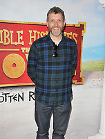 "Dave Gorman at the ""Horrible Histories: The Movie - Rotten Romans"" world film premiere, Odeon Luxe Leicester Square, Leicester Square, London, England, UK, on Sunday 07th July 2019.<br /> CAP/CAN<br /> ©CAN/Capital Pictures"