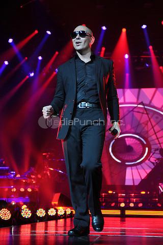 HOLLYWOOD FL - OCTOBER 25 : Pitbull performs at Hard Rock Live held at the Seminole Hard Rock Hotel & Casino on October 25, 2014 in Hollywood, Florida. Credit: mpi04 / MediaPunch