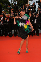 "CANNES, FRANCE. May 17, 2019: Rossy de Palma at the gala premiere for ""Pain and Glory"" at the Festival de Cannes.<br /> Picture: Paul Smith / Featureflash"