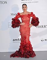 Singer Katy Perry at the amfAR Cinema Against AIDS Gala 2016 at the Hotel du Cap d'Antibes.<br /> May 19, 2016  Antibes, France<br /> Picture: Paul Smith / Featureflash