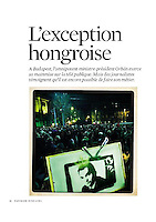 Telerama (french weekly):<br /> The state of Hungarian media, 02.2012<br /> Pictures: Martin Fejer