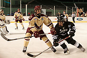Casey Fitzgerald (BC - 5), Ryan Tait (PC - 8) - The Boston College Eagles defeated the Providence College Friars 3-1 (EN) on Sunday, January 8, 2017, at Fenway Park in Boston, Massachusetts.