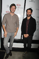 Mark Duplass, Jay Duplass<br /> KIA SUPPER SUITE BY STK hosts a cast dinner for films, THE OVERNIGHT, TANGERINE & ANIMALS, Handle Restaurant and Bar, Park City, UT 01-24-15<br /> David Edwards/DailyCeleb.com 818-915-4440