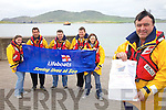 Valentia Lifeboat will be celebrating 100 years in operation this weekend with an open day and plenty of fun activities for the kids starting at 11am with a 5k run, 12:30 Dingy Rowing Race, 2pm Tug of War, Plank Race, Welly Throwing & a Kids Treasure Hunt from noon till 5pm.  A Photo Exhibition will take place in the Boathouse Saturday and Sunday.  The weekend will end with a Gala Dinner Dance in the Royal Hotel on Sunday evening from 8pm. Pictured here l-r; Cornelia Lyne, Richard Quigley(Cox), Tommy McKenna, Leo Houlihan(Engineer), Joanne Cahill & Tommy Gilligan.