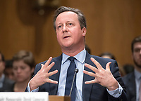 MAR 13 David Cameron Testifies before the US Senate Foreign Relations Committee