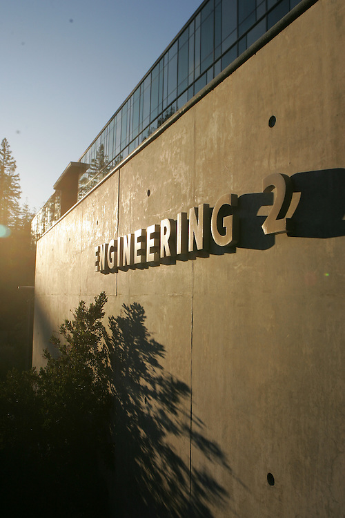 October 15, 2008; Santa Cruz, CA, USA; An exterior view of the Engineering Two building on the campus of UC Santa Cruz in Santa Cruz, CA. Photo by: Phil Carter