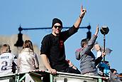 5th February 2019, Boston, Massachusetts, USA;  New England Patriots quarterback Tom Brady (12) during the New England Patriots Super Bowl Victory Parade on February 5th 2019, through the streets of Boston, Massachusetts.