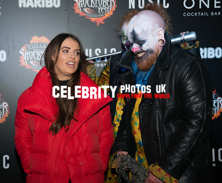 Nancy May Turner at the Opening of Shocktober at  Tulleys Farm, Surrey, UK photo by Amanda Cunningham
