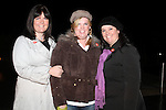 Susan and Wendy Fitzsimons with Nicola McDonagh at the Ghost Tour of Oldbridge House..(Photo credit should read Jenny Matthews www.newsfile.ie)....This Picture has been sent you under the condtions enclosed by:.Newsfile Ltd..The Studio,.Millmount Abbey,.Drogheda,.Co Meath..Ireland..Tel: +353(0)41-9871240.Fax: +353(0)41-9871260.GSM: +353(0)86-2500958.email: pictures@newsfile.ie.www.newsfile.ie.