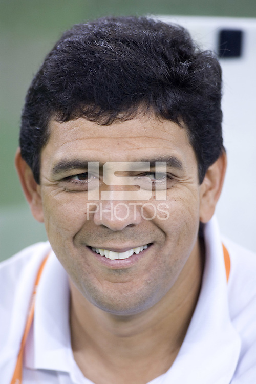 Brazil head coach Jorge Barcellos. Brazil defeated Australia, 3-2 during the quarterfinals of the FIFA Women's World Cup at Tianjin Olympic Center Stadium in Tianjin, China on September 23, 2007.