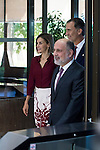 King Felipe VI of Spain and Queen Letizia of Spain during the XXXV lunch to mark the anniversary of the Constitutional Court at Constitutional Curt, Madrid, Spain. September 09.<br /> (ALTERPHOTOS/BorjaB.Hojas)