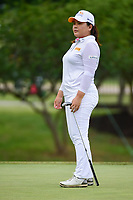 Inbee Park (KOR) watches her putt on 8 during round 2 of  the Volunteers of America Texas Shootout Presented by JTBC, at the Las Colinas Country Club in Irving, Texas, USA. 4/28/2017.<br /> Picture: Golffile   Ken Murray<br /> <br /> <br /> All photo usage must carry mandatory copyright credit (&copy; Golffile   Ken Murray)