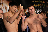 Montreal (QC) CANADA- Dec 10 2009- Official Weighting before Dec 11 Fight :<br /> <br /> Ramon Pedro Moyano ,Eric Lucas