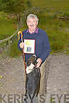 Brendan Ferris - 'Kells Sheep Centre' receives an award from C.I.E. Tours International for 'Overall Excellence - Best Tour Feature 2010', pictured here at The Kells Sheep Centre with his dog Bess.