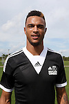 09 January 2015: Khiry Shelton (Oregon State). The 2015 MLS Player Combine was held on the cricket oval at Central Broward Regional Park in Lauderhill, Florida.