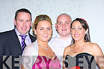 MARKING: Marking their card at the Fundraiseing night at the Kingdom Greyhound Stadium, Tralee in aid of the Kerry General Hospital sponsored by Kerry Group.l-r: Mike O'Shea, Catherine Moriarty, John Moriarty and Catherine O'Shea.   Copyright Kerry's Eye 2008