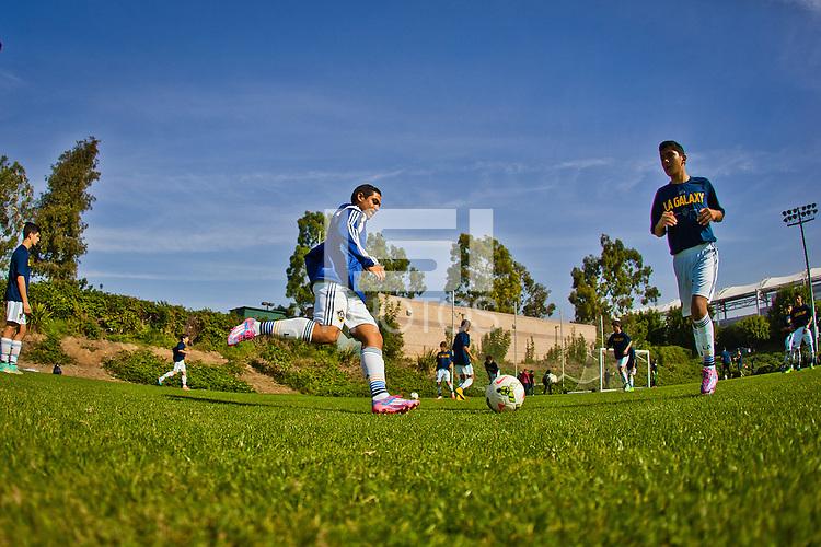 Carson, CA. - Sunday, November 16, 2014: US Soccer Development Academy held the U-13/14 West regional showcase at StubHub Center.
