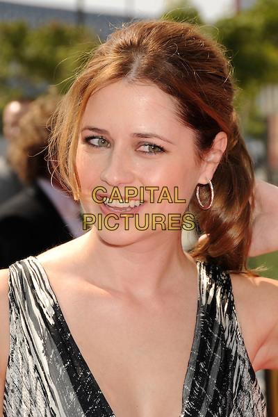 JENNA FISCHER .60th Annual Primetime Creative Arts Emmy Awards - Arrivals at the Nokia Theatre, Los Angeles, California, USA, 13 September 2008..portrait headshot .CAP/ADM/BP.©Byron Purvis/Admedia/Capital PIctures