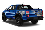 Car pictures of rear three quarter view of 2019 Ford Ranger-Raptor - 4 Door Pick-up Angular Rear