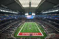 Hawgs Illustrated/Ben Goff<br /> A view of AT&T Stadum Saturday, Sept. 29, 2018, before the Southwest Classic between Arkansas vs Texas A&M in Arlington, Texas.