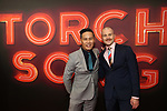 "B.D. Wong and Richert Schnorr attends the Broadway Opening Night of ""Torch Song"" at the Hayes Theater on Noveber 1, 2018 in New York City."