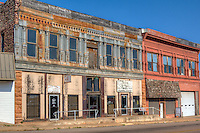 The St. Cloud Hotel located on Route 66 in Chandler Oklahoma is in need of repair and restoration.  The building was built in 1903 is listed on the National Register of Historic Places. The St. Cloud Hotel opened April 24, 1904, part of &quot;Gormley's Block,&quot; the 1200<br /> block on the east side of Manvel Avenue. The property of John Edward Gormley, a<br /> Chandler pioneer, the St. Cloud was noted for its elegance and for its elevator,<br /> the first in the town. It competed successfully with Chandler's other hotels. The<br /> upper floors were intended to serve as the town hospital but no record of such<br /> service exists. During World War I the Oklahoma National Guard leased rooms in the<br /> hotel for administrative offices and officers' quarters. It was later owned by<br /> honeybee and pecan processors and served as a warehouse, a cabinet maker's shop,<br /> and a garment factory.