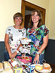 Una Savage and Paula Brooks pictured at the SOSAD coffee morning at Donore parish hall. Photo:Colin Bell/pressphotos.ie