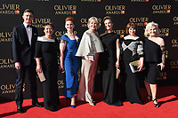 The Girls Cast at The Olivier Awards 2017 at the Royal Albert Hall, London, UK. <br /> 09 April  2017<br /> Picture: Steve Vas/Featureflash/SilverHub 0208 004 5359 sales@silverhubmedia.com