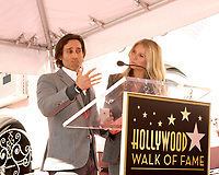 LOS ANGELES - DEC 4:  Brad Falchuk, Gwyneth Paltrow at the Ryan Murphy Star Ceremony on the Hollywood Walk of Fame on December 4, 2018 in Los Angeles, CA