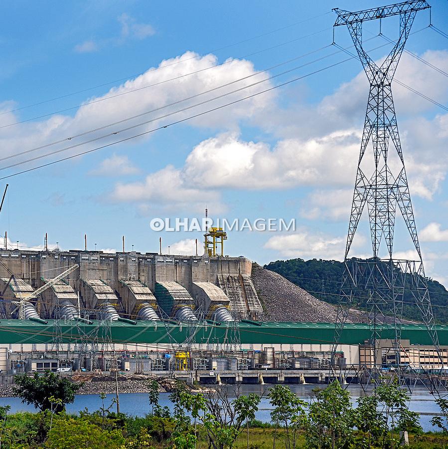Barragem da Usina Hidreletrica de Belo Monte, no rio Xingu, Vitoria do Xingu, Para. 2017. Foto de Luciana Whitaker.