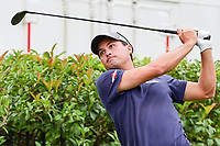 Kevin Kisner (USA) watches his tee shot on 15 during round 4 of the Dean &amp; Deluca Invitational, at The Colonial, Ft. Worth, Texas, USA. 5/28/2017.<br /> Picture: Golffile | Ken Murray<br /> <br /> <br /> All photo usage must carry mandatory copyright credit (&copy; Golffile | Ken Murray)