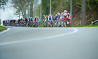 Liege-Bastogne-Liege 2012.98th edition..peloton downhill