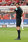 11.05.2019, BayArena, Leverkusen, GER, 1. FBL, Bayer 04 Leverkusen vs. FC Schalke 04 ,<br />  <br /> DFL regulations prohibit any use of photographs as image sequences and/or quasi-video<br /> <br /> im Bild / picture shows: <br /> Schiedsrichter / referee Deniz Aytekin (SR)<br /> <br /> Foto &copy; nordphoto / Meuter