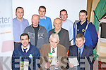 Munster Cattle breeding group who held an information meeting in the River Island Hotel, Castleisland on Monday evening front row l-r: Pat Donnellan ICBIF, John Shirley NCBC, Pat Mulvihill MCB. Back row: Justin McCarthy Farmers Journal, Ray Horgan MCB,  Daniel O'Connor Killorglin, Mike Clohessy MCB and Eamon Flynn Farranfore